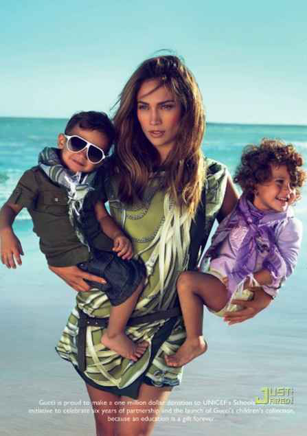 jennifer lopez gucci kid