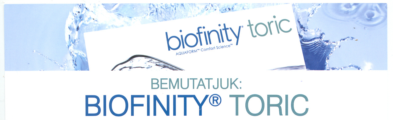 Biofinty toric