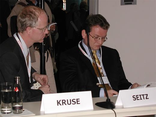 Az ECCO vezetésének budapesti találkozója