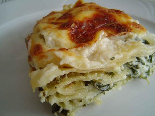 parajos ricottás lasagne