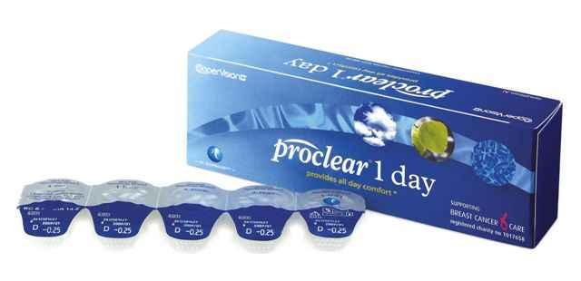 proclear 1 day kontaktlencse