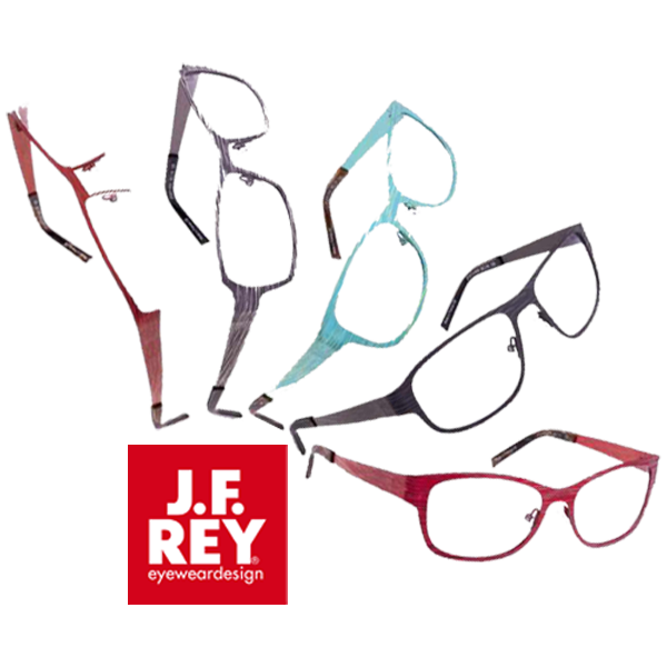J. F. Rey eyewear Silk collection