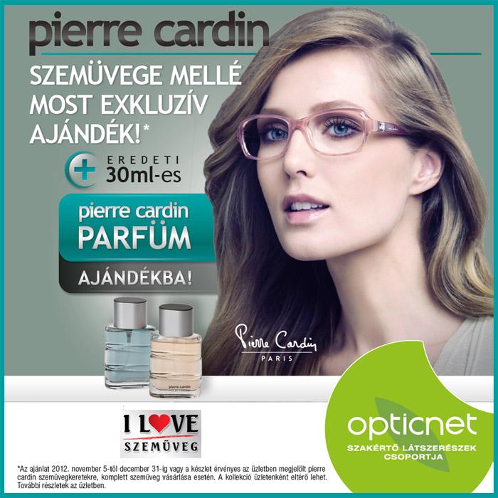 Pierre Cardin szemüveg ajándék Pierre Cardin parfümmel