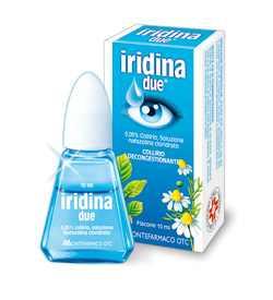 Iridina due szemcsepp a vörös szemekre
