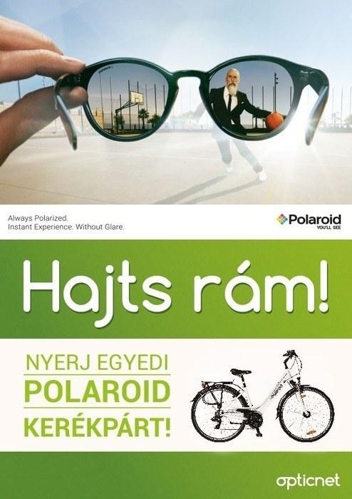 Polaroid napszemüveg akció