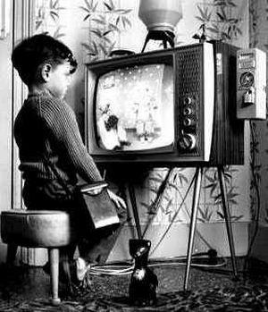 tévé nézés