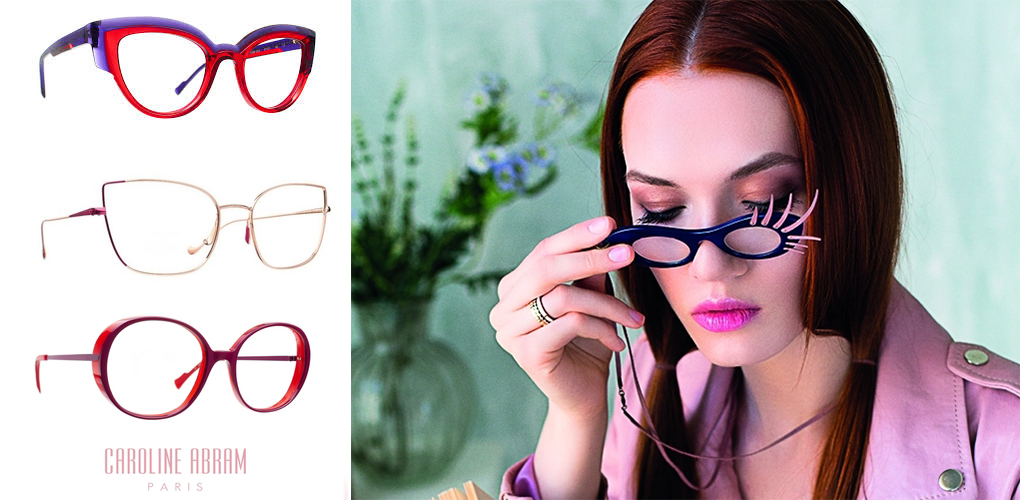 Caroline Abram szemüvegkeretei