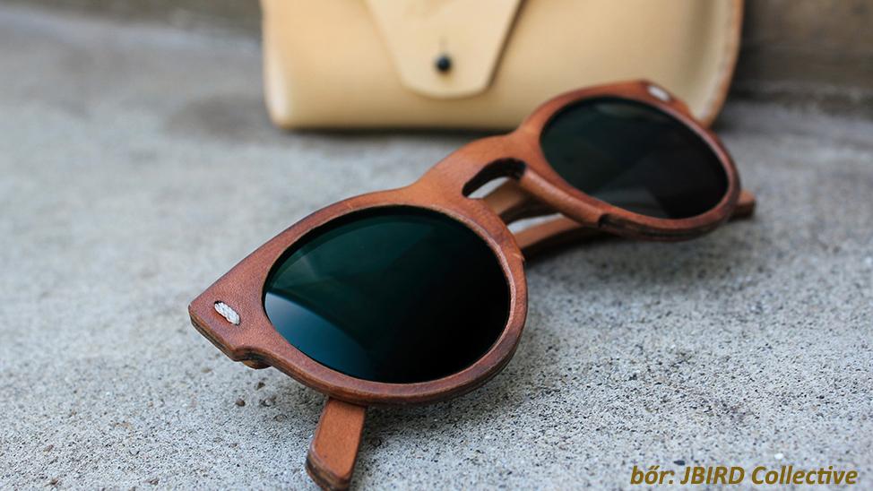 Bőr szemüvegkeret JBIRD Collective