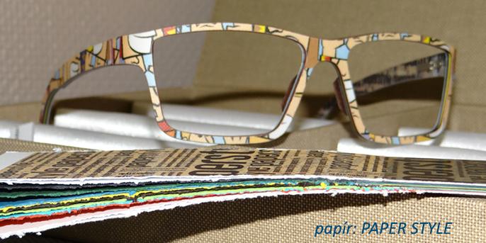 papír szemüvegkeret Paper Style